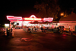 The West Side Drive-In is a Boise institution which serves up late night burgers, onion rings and milkshakes.