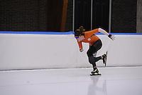 SCHAATSEN: LEEUWARDEN: 09-10-2015, Elfstedenhal, Training topsport, Antoinette de Jong, ©foto Martin de Jong