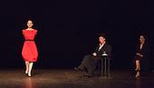 "5 June 2012, London, England. Tanztheater Wuppertal Pina Bausch perform ""Viktor"" at a dress rehearsal at Sadler's Wells Theatre for ""World Cities 2012"". A piece by Pina Bausch in co-production with Teatro Argentino di Roma, first performed 14 May 1986 at Schauspielhaus Wuppertal. Director & Choreographer: Pina Bausch, Set Design: Peter Pabst, Costume Design: Marion Cito, Dramaturgy: Raimund Hoghe, Dancers: Ruth Amarante, Jakob Andersen, Pablo Aran Gimeno, Rainer Behr, Fabien Prioville, Damiano Ottavio Bigi, Ales Cucek, Silvia Farias Heredia, Barbara Kaufmann, Ditta Miranda Jasjfi, Daphnis Kokkinos, Eddie Martinez, Dominique Mercy, Thusnelda Mercy, Pascal Merighi, Cristiana Morganti, Nazareth Panadero, Helena Pikon, Jorge Puerta Armenta, Jean-Laurent Sasportes, Franko Schmidt, Azusa Seyama, Julie Shanahan, Julie Anne Stanzak, Michael Strecker, Fernando Suels Mendoza, Aida Vainieri, Anna Wehsarg, Tsai-Chin Yu: Photo credit: (c) Bettina Strenske 2012"