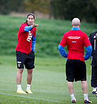 Bilel Mohsni argues with Nicky Law