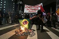 14.06.2019 - Protesto contra a reforma da Previdência em SP