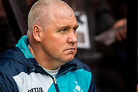 Swansea City Assistant manager, Nigel Gibbs looks on from the bench during the Premier League match between AFC Bournemouth and Swansea City  at Vitality Stadium, Bournemouth, England, UK. Saturday 18 March 2017