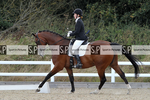 Class 5. British dressage. Brook Farm Training Centre. Essex. 09/09/2016. MANDATORY Credit Garry Bowden/Sportinpictures - NO UNAUTHORISED USE - 07837 394578