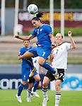 Giulia Domenichetti, Melanie Behringer,  QF, Germany-Italy, Women's EURO 2009 in Finland, 09042009, Lahti Stadium.