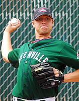 6 May 2007: Chris Jones from a game between the Greenville Drive, Class A affiliate of the Boston Red Sox, and the Augusta GreenJackets at West End Field in Greenville, S.C. Photo by:  Tom Priddy/Four Seam Images