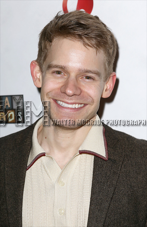 "Andrew Keenan-Bolger attends the ""Broadway Backwards"" After Party Reception  at John's Restaurant on March 24, 2014 in New York City."