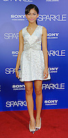 HOLLYWOOD, CA - AUGUST 16: Zendaya Coleman arrives for the Los Angeles premiere of 'Sparkle' at Grauman's Chinese Theatre on August 16, 2012 in Hollywood, California. /NOrtePHOTO.COM<br />