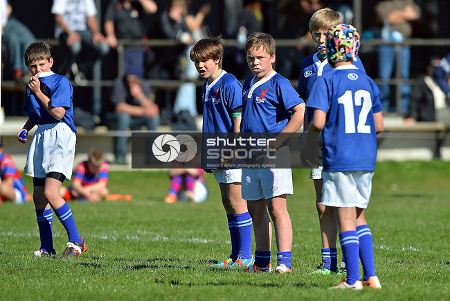 U11 Rep Rugby, Nelson v Buller, 24th August 2014, Murchison, Photo: Barry Whitnall / shuttersport.co.nz