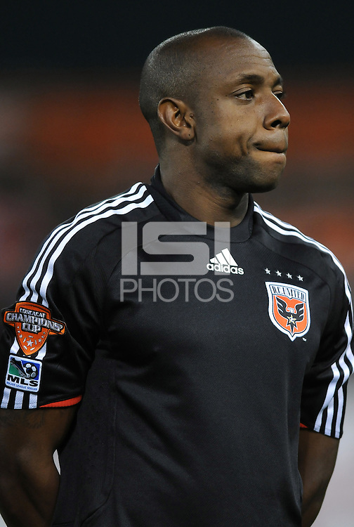 DC United defender Gonzalo Martinez (23). DC United defeated Harbour View 5-0 (6-1 on aggregate) in the second leg of the CONCACAF Champions' Cup quarterfinal series at RFK Stadium in Washington D. C. on March 18, 2008.