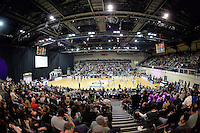 Action from the NBL Final - Hawks v Saints at TSB Bank Arena, Wellington, New Zealand on Saturday 5 July 2014. <br /> Photo by Masanori Udagawa. <br /> www.photowellington.photoshelter.com.