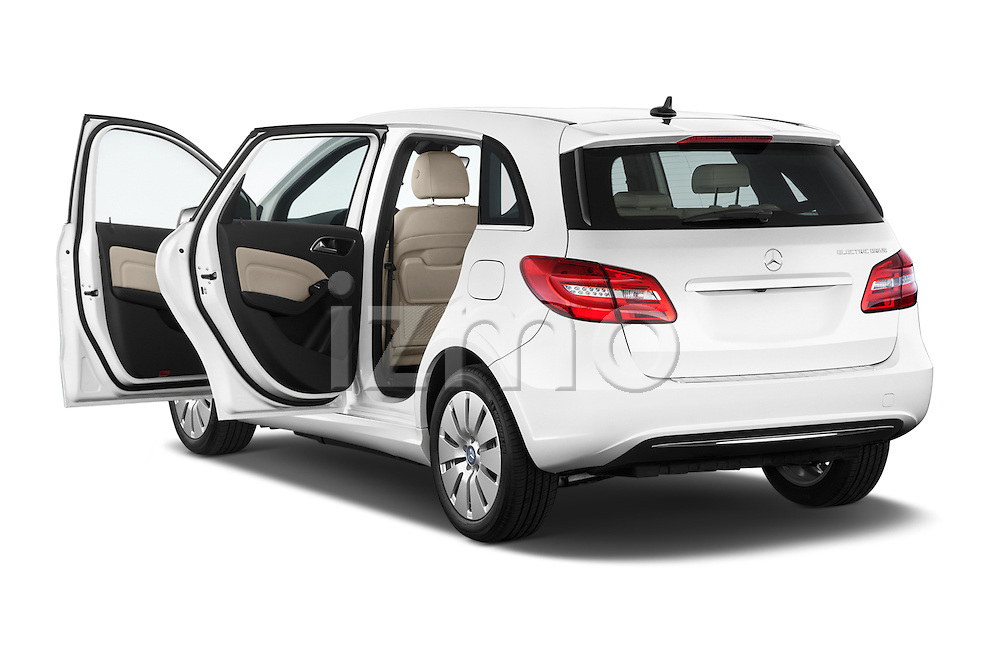 Car images of a 2014 Mercedes Benz B-Class Electric Drive 5 Door MPV Doors