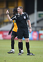 Referee Rob Whitton during the Blue Square Bet Premier match between Cambridge United and Wrexham at the Abbey Stadium, Cambridge on 22nd January, 2011 .© Kevin Coleman 2011