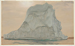Drawing, Gray Iceberg, 1859<br />