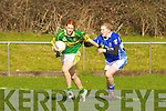 Louise Ni? Mhuircheartaigh Kerry rounds Marian O'Grady Laois