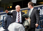 Mark Warburton and Ronny Deila at Hampden