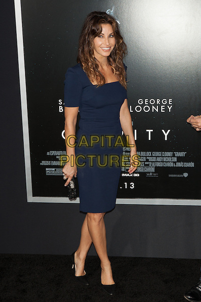 Gina Gershon<br /> The 'Gravity' premiere at AMC Lincoln Square Theater, New York City, NY., USA.<br /> October 1st, 2013<br /> full length blue dress<br /> CAP/MPI/COR<br /> &copy;Corredor99/ MediaPunch/Capital Pictures