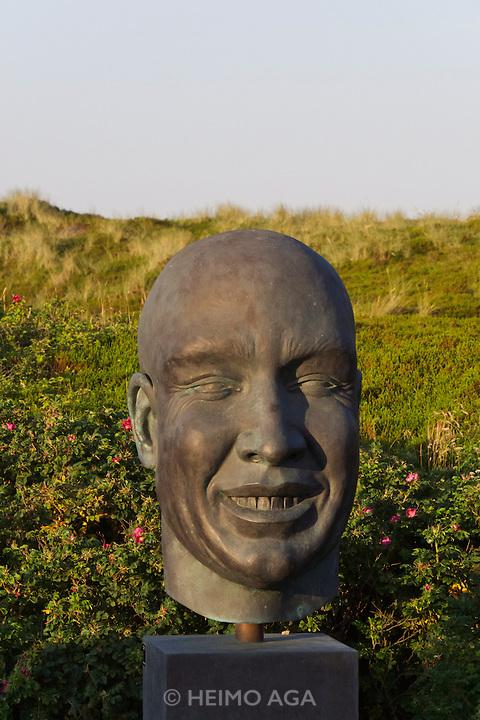 Sylt, Germany. Rantum. Sansibar. Modern sculpture.