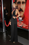 LOS ANGELES, CA- DECEMBER 12: Actress Dawn Olivieri arrives at the 'Her' Los Angeles Premiere - Arrivals at Directors Guild Of America on December 12, 2013 in Los Angeles, California.