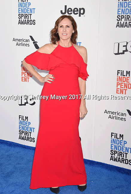 SANTA MONICA, CA - FEBRUARY 25: Actress/comedian Molly Shannon attends the 2017 Film Independent Spirit Awards at the Santa Monica Pier on February 25, 2017 in Santa Monica, California.