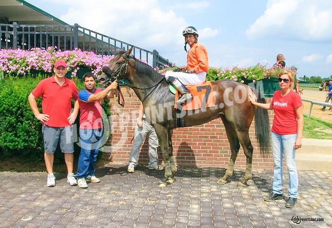 Mr Num Num winning at Delaware Park on 8/11/15