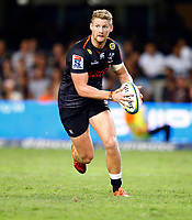 DURBAN, SOUTH AFRICA - MARCH 23: Robert du Preez of the Cell C Sharks during the Super Rugby match between Cell C Sharks and Rebels at Jonsson Kings Park on March 23, 2019 in Durban, South Africa. Photo: Steve Haag / stevehaagsports.com