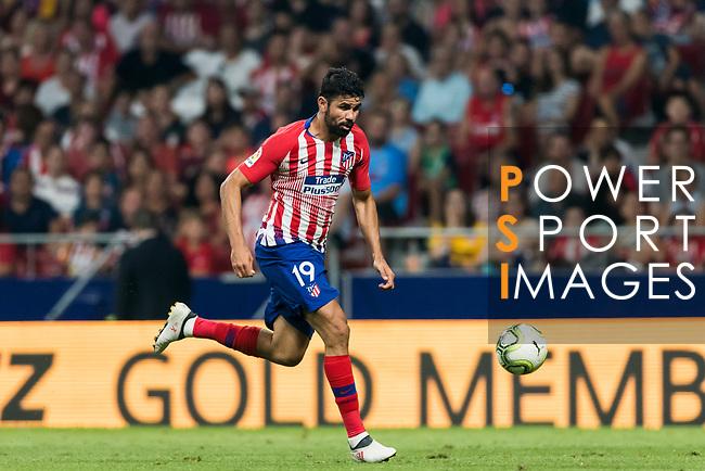 Diego Costa of Atletico de Madrid in action during their International Champions Cup Europe 2018 match between Atletico de Madrid and FC Internazionale at Wanda Metropolitano on 11 August 2018, in Madrid, Spain. Photo by Diego Souto / Power Sport Images