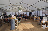 People from all over the world are working in the media centre, to get eveybody informed about the World Scout Jamboree