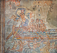 The Voyage of Venus, a Roman mosaic from Volubilis. Museum of Moroccan Arts and Antiquities, Morocco.