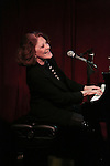 Linda Lavin performs 'My First Farewell Concert' at Birdland on February 1, 2016 in New York City.