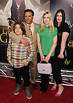 BEVERLY HILLS, CA - MAY 31: Andy Garcia and family attend the Los Angeles premiere of ARC Entertainment's 'For Greater Glory' at the AMPAS Samuel Goldwyn Theater on May 31, 2012 in Beverly Hills, California.