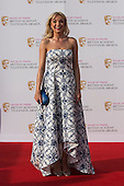 London, UK. 8 May 2016. Actress Helen George. Red carpet  celebrity arrivals for the House Of Fraser British Academy Television Awards at the Royal Festival Hall.