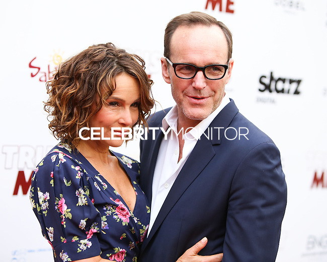 "HOLLYWOOD, LOS ANGELES, CA, USA - MAY 22: Jennifer Grey, Clark Gregg at the Los Angeles Premiere Of ""Trust Me"" held at the Egyptian Theatre on May 22, 2014 in Hollywood, Los Angeles, California, United States. (Photo by Xavier Collin/Celebrity Monitor)"