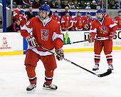 Ondrej Dolezal (Czech Republic - 26) - Sweden defeated the Czech Republic 4-2 at the Urban Plains Center in Fargo, North Dakota, on Saturday, April 18, 2009, in their final match of the 2009 World Under 18 Championship.