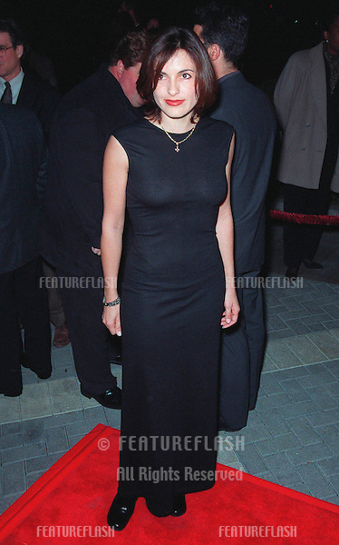"28JAN99:  ""ER"" star MARISHKA HARGITAY at the world premiere, in Los Angeles, of ""Payback"" which stars Mel Gibson, Maria Bello, Deborah Kara Unger & Lucy Liu...© Paul Smith / Featureflash"