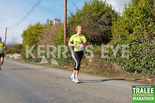 1169 Siobhan Dowling who took part in the Kerry's Eye, Tralee International Marathon on Saturday March 16th 2013.