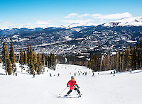 Breckenridge Ski Resort in Breckenridge, Colorado. Shot for Brigitte Magazine (Germany)