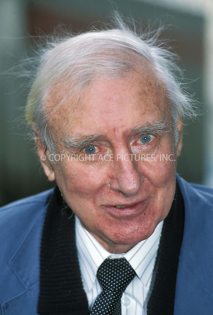 *USA RIGHTS ONLY* *FILE PHOTO*     ..SPIKE MILLIGAN, British actor, comic and the last member of The Goons (The Goon Show) has died on February 27,  at his home in Sussex, at the age of 83. © 2002 by NY Photo Press.   ..*PAY-PER-USE*      ....NY Photo Press:  ..phone (646) 267-6913;   ..e-mail: info@nyphotopress.com