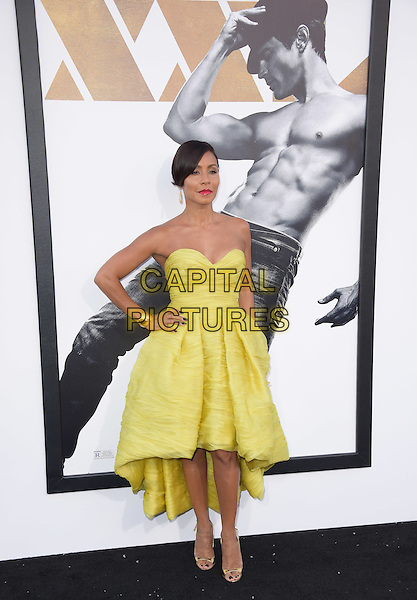 Jada Pinkett Smith attends The Warner Bros. Pictures' L.A. Premiere of Magic Mike XXL held at The TCL Chinese Theatre  in Hollywood, California on June 25,2015  <br /> CAP/DVS<br /> &copy;DVS/Capital Pictures
