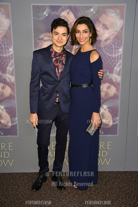 Marwan Salama &amp; Necar Zadegan at the premiere for HBO's &quot;Here and Now&quot; at The Directors Guild of America, Los Angeles, USA 05 Feb. 2018<br /> Picture: Paul Smith/Featureflash/SilverHub 0208 004 5359 sales@silverhubmedia.com
