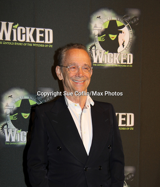 Joel Grey, the original Wizard - The blockbuster musical, Wicked, celebrates its 10th Anniversary on Broadway, a milestone achieved by only ten other Broadway productions in history on October 30, 2013 at the Gershwin Theatre, New York City followed by the red carpet at the Edison Ballroom with current, alumni and creative team.  (Photo by Sue Coflin/Max Photos)