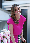 16 MAY  2014 SYDNEY AUSTRALIA<br /> <br /> NON EXCLUSIVE PICTURES<br /> <br /> Miranda Kerr pictured attending the Royal Albert Teaware By Miranda Kerr Launch in Hyde Park. Miranda changed to a hot pink dress for the second part of the launch.<br /> <br /> *No internet without clearance*.<br /> MUST CALL PRIOR TO USE <br /> +61 2 9211-1088. <br /> <br /> Matrix Media Group.Note: All editorial images subject to the following: For editorial use only. Additional clearance required for commercial, wireless, internet or promotional use.Images may not be altered or modified. Matrix Media Group makes no representations or warranties regarding names, trademarks or logos appearing in the images.