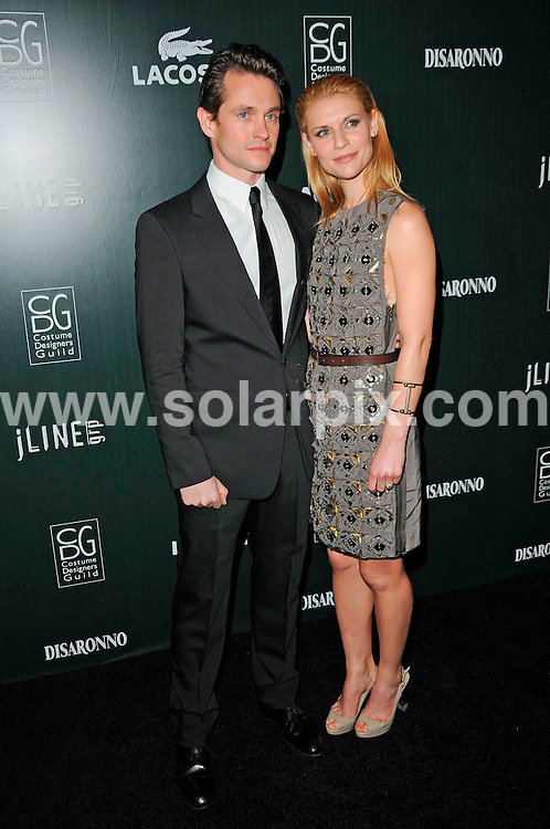 **ALL ROUND PICTURES FROM SOLARPIX.COM**                                             **SYNDICATION RIGHTS FOR UK, AUSTRALIA, DENMARK, PORTUGAL, S. AFRICA, SPAIN & DUBAI (U.A.E) & ASIA (EXCLUDING JAPAN) ONLY**                                                                                  Arrivals at the 13th Annual Costume Designers Guild Awards at The Beverly Hilton Hotel, Beverly Hills, CA, USA                                                                             .This pic:      Hugh Dancy and Claire Danes                                                                                         JOB REF:   12876     PHZ/Evans       DATE:  23.02.11                                                          **MUST CREDIT SOLARPIX.COM OR DOUBLE FEE WILL BE CHARGED**                                                                      **MUST AGREE FEE BEFORE ONLINE USAGE**                               **CALL US ON: +34 952 811 768 or LOW RATE FROM UK 0844 617 7637**