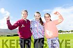 Ciara Fitzgibbon,Kylan Enright  and Orla Murphy at   the Tony O'Donoghue Memorial Walk at St Pat's GAA Club on Sunday