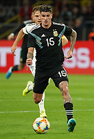 Rodrigo de Paul (Argentinien, Argentina) - 09.10.2019: Deutschland vs. Argentinien, Signal Iduna Park, Freunschaftsspiel<br /> DISCLAIMER: DFB regulations prohibit any use of photographs as image sequences and/or quasi-video.