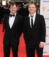 David Mitchell and Robert Webb arriving for the BAFTA Television Awards 2010 at the London Palladium. 06/06/2010  Picture by: Steve Vas / Featureflash