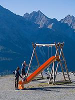 Plateau Motta Naluns im Slivrettagebirge, Scuol, Unterengadin, Graubünden, Schweiz, Europa<br /> Plateau Motta Naluns in Silvretta Alps, Scuol, Engadine, Grisons, Switzerland