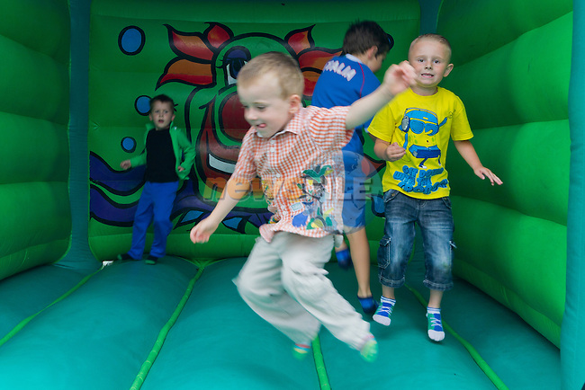 There were bouncing castles, music and various other activities on the day..Picture: Shane Maguire / www.newsfile.ie