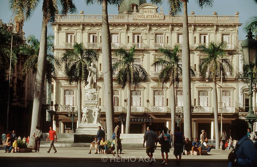 CUBA, HAVANA..Hotel Inglaterra..(Photo by Heimo Aga)