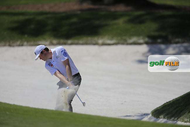 Kyle Reifers  (USA) during round 1of the Players, TPC Sawgrass, Championship Way, Ponte Vedra Beach, FL 32082, USA. 12/05/2016.<br /> Picture: Golffile | Fran Caffrey<br /> <br /> <br /> All photo usage must carry mandatory copyright credit (&copy; Golffile | Fran Caffrey)