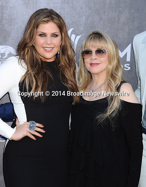Pictured: Hillary Scott and Stevie Nicks<br /> Mandatory Credit &copy; Gilbert Flores/Broadimage<br /> 49th Annual Academy of Country Music Awards - Arrivals<br /> <br /> 4/6/14, Las Vegas, Nevada, United States of America<br /> <br /> Broadimage Newswire<br /> Los Angeles 1+  (310) 301-1027<br /> New York      1+  (646) 827-9134<br /> sales@broadimage.com<br /> http://www.broadimage.com